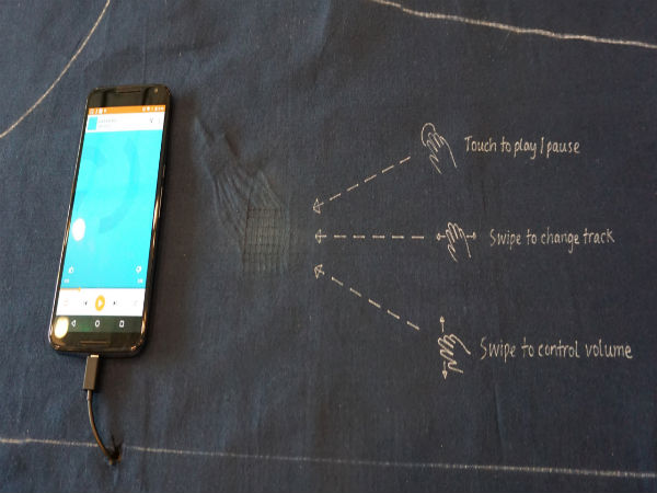 Google's Project Jacquard To Introduce Touch Sensitive Clothing