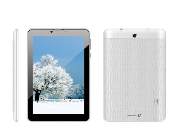 Videocon Just Launched a Tablet with A Massive 3,000 mAh Battery