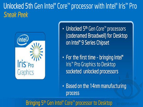 Intel At Computex 2015: Fifth Generation Core Processor, Thunderbolt 3