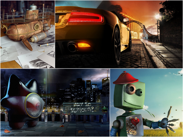 Coming Soon to Photoshop: Mixamo's 3D technology and models