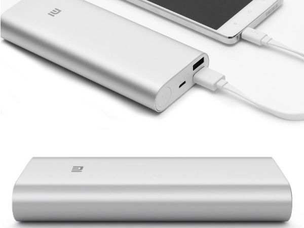 Xiaomi Mi 16000mAh Power Bank Launched In India At Rs 1,399