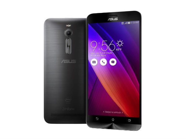 Asus Zenfone 2 Builded with 2GB RAM