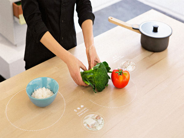 This Smart Table for Ikea Can Suggest Receipes and Also Cook Meals