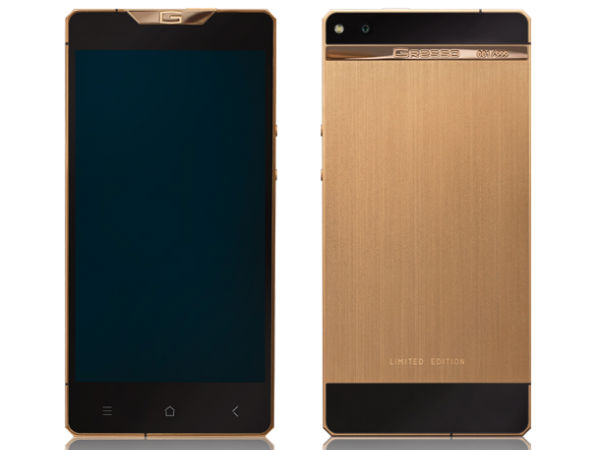 Gresso Unveils Regal Gold, A Luxury Android Smartphone Made Of Gold