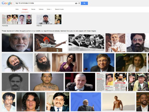 Google apologises over Modi image search results