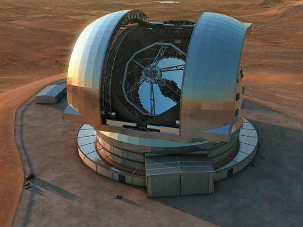 World's Largest Optical Telescope will be built in Chile