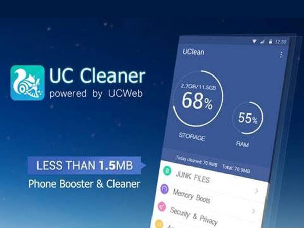 Now Optimize Your Smartphone with UC Cleaner App: A Clean Master Rival