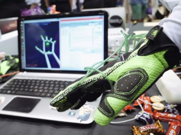 Feel virtual reality with new gloves