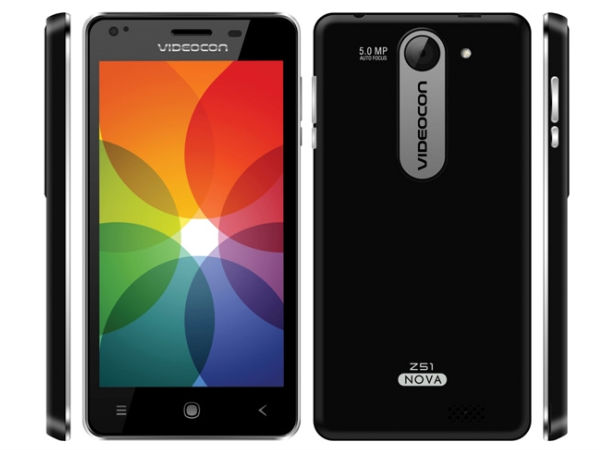 Videocon Launches Another Budget Smartphone with Quad-Core CPU