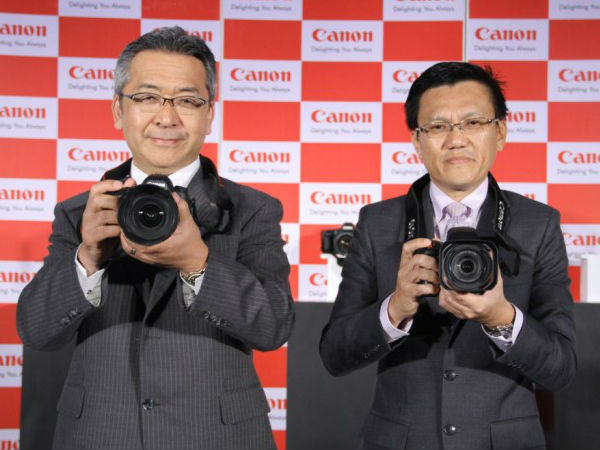 Mobile phones, cameras can co-exist, says Canon