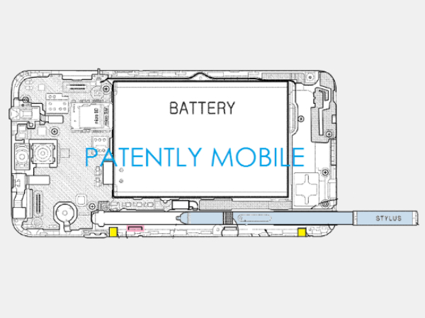 Samsung Patents Auto-Eject Stylus For Galaxy Note 5