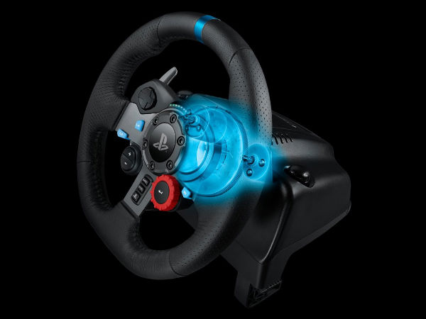 Logitech G Launched G29 Driving Force Wheel for the PlayStation 4