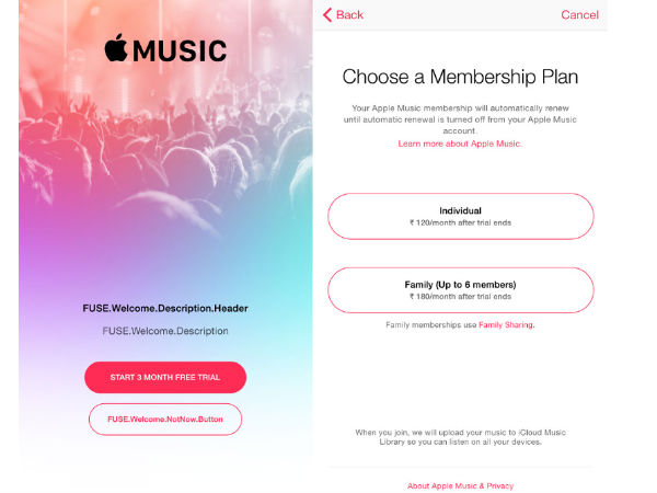 Apple Music to Come with iOS 8.4, starts at Rs. 120/month for India