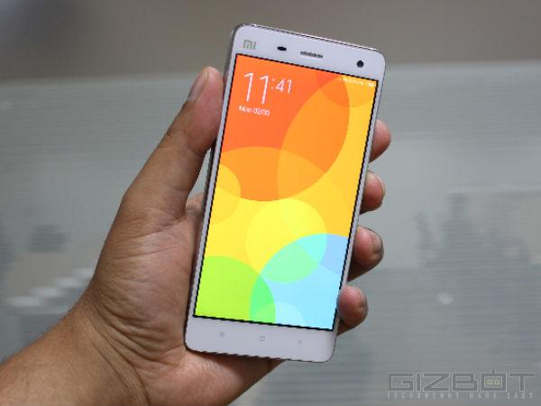 Xiaomi Mi 4 Price Slashed to Rs 19,999, to Take on OnePlus One