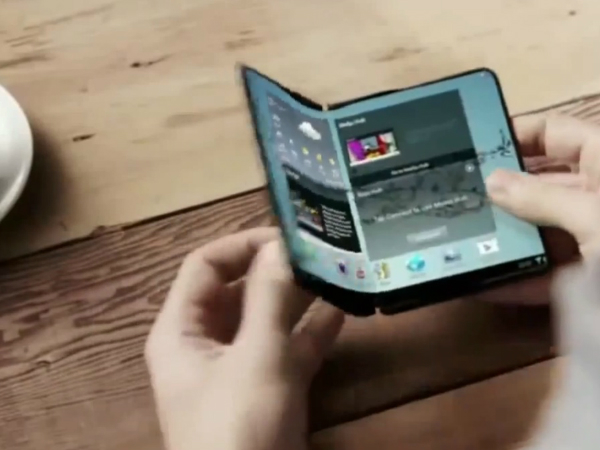 Samsung New Patent Reveals Fold-Able Display For Future Galaxy Note