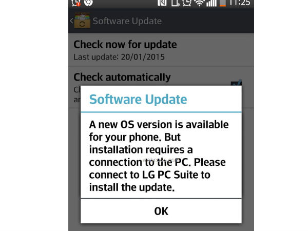 LG G2 Started Receiving Android Lollipop Update