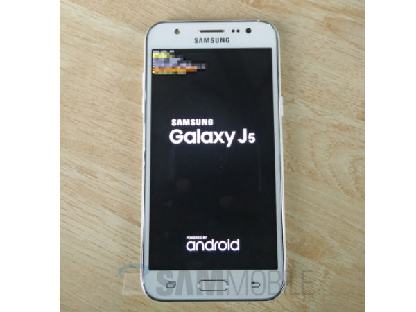 Samsung Galaxy J5: Alleged photos Leaked with Polycarbonate Body