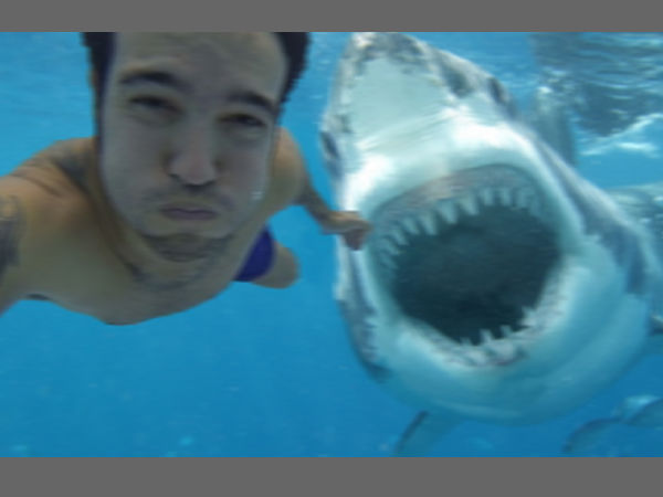 Aussie surfer's selfie with shark goes viral, turns out fake