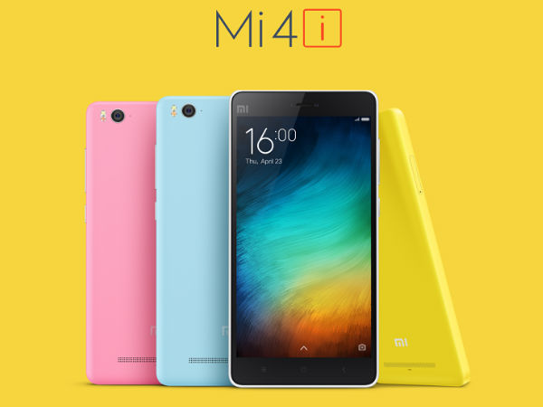 Xiaomi Mi 4i Dark Grey Version to go on Flash Sale at 2PM Today