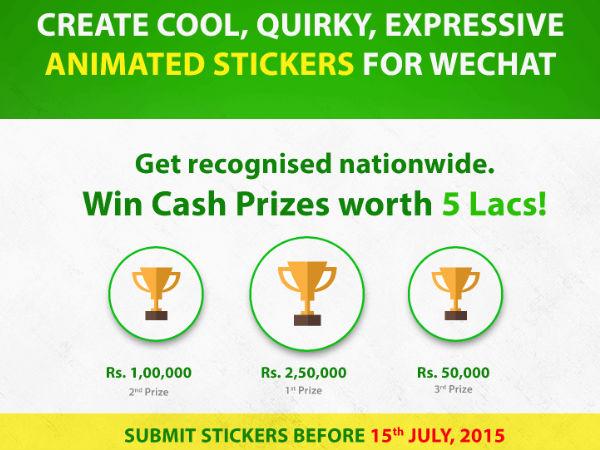 WeChat Announces Creative Sticker Design Challenge
