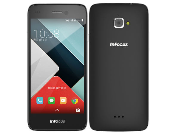 Infocus M350 with 5-inch HD display, 4G Connectivity is Now Official