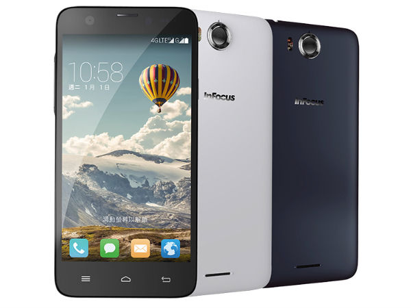 Infocus M530 with 4G Option, Octa-Core CPU Launched