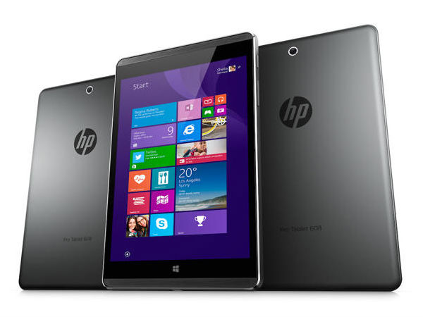 HP Pro Tablet 608 G1 with 8-inch Display, Intel Atom CPU Unveiled