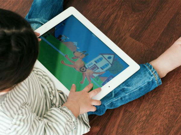 Even a two-year old can use iPads