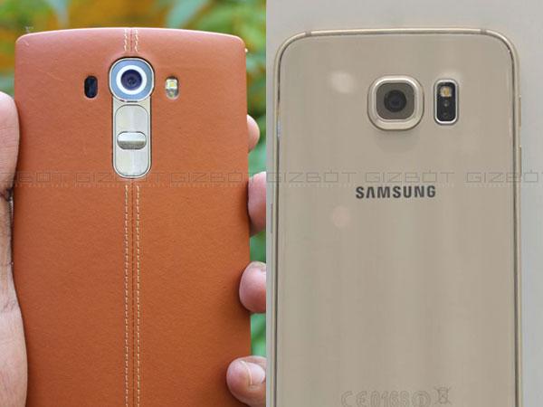 LG G4 vs Samsung Galaxy S6: The battle of the nexus!