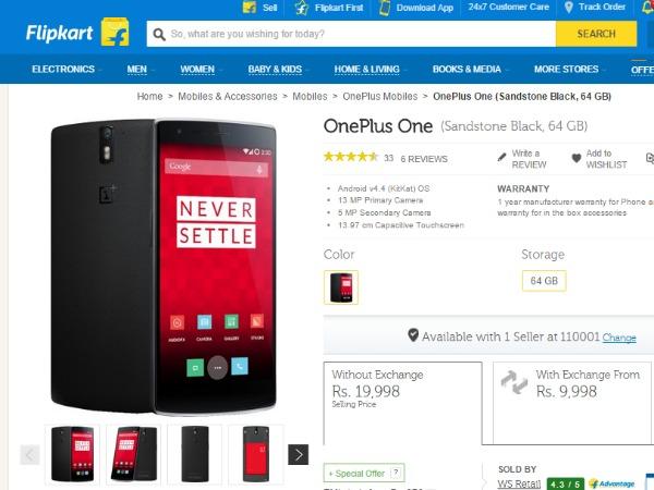 OnePlus smartphones to debut on Flipkart from Today