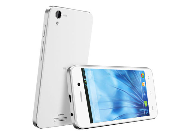 Lava Iris X1 Atom S with 4-inch Display, 5MP Camera Launched