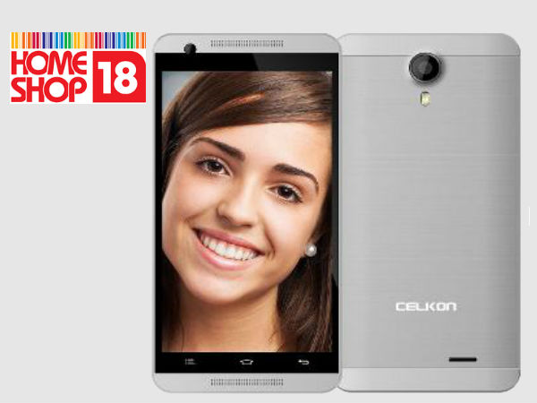 Celkon Millennia ME Q54 on HomeShop18 and Meet the Indian Cricket Team