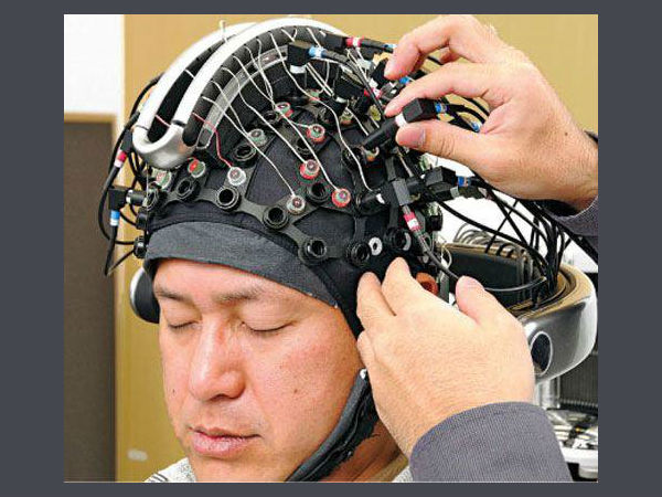 Robot to be controlled by thoughts