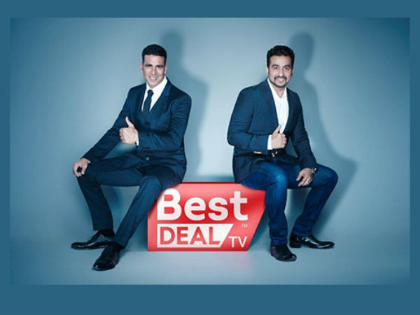 Amazon ties up with Akshay Kumar's Best Deal TV