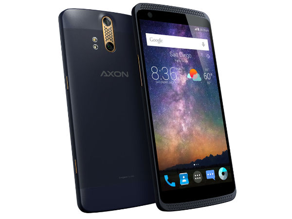 ZTE Axon with 4GB RAM, Dual Rear cameras to be Launched on July 14