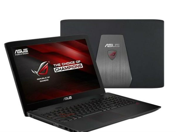 Asus ROG GL552 Gaming Laptop Launched in India at Rs 70,999