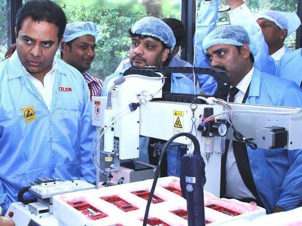 Celkon launches first manufacturing plant in Telangana