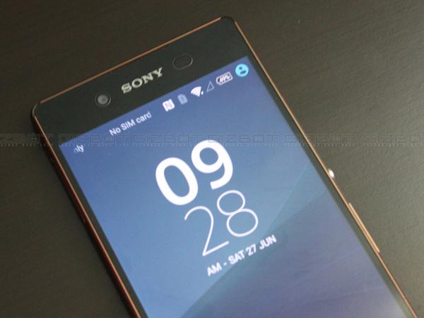 Sony Xperia Z3+ first impressions