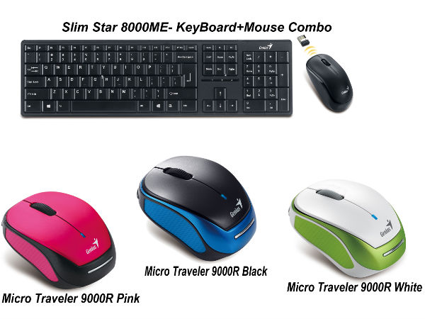 Genius Launches New Range of Wireless Mouse Products