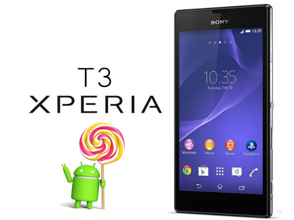 How to Update Sony Xperia T3 to Android 5.1.1 Lollipop Custom ROM