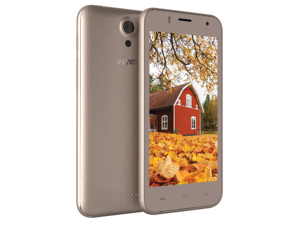 Intex Launches Another Low-Budget Smartphone at Rs 4,190