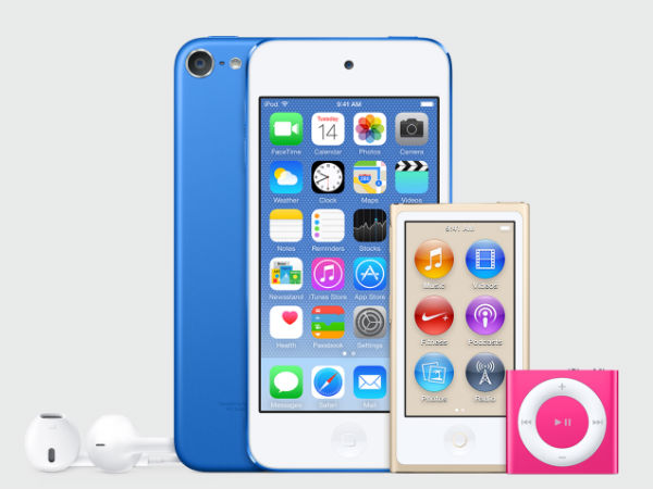 Apple's Next Gen iPod To Come In New Colours