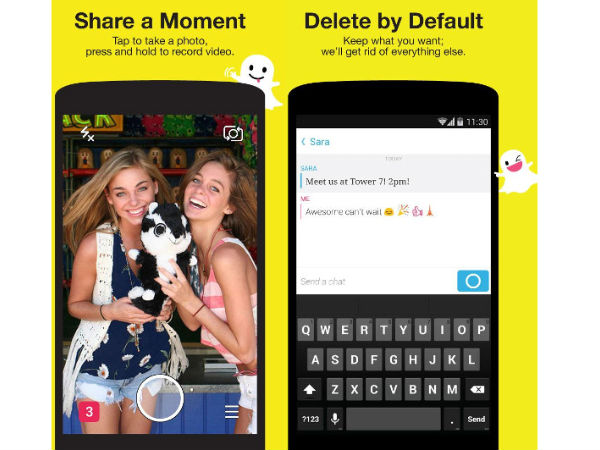 Snapchat Rolled Out New Update for Android and iOS