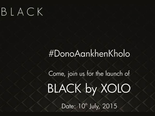 Xolo to Launch Black on July 10 on Flipkart
