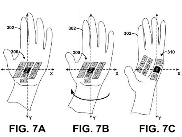 Headset that turns your palm into keyboard!