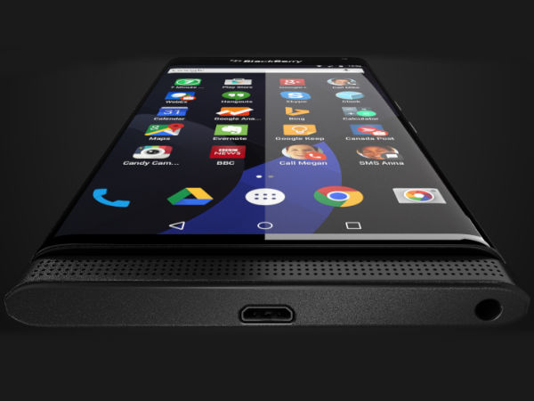 BlackBerry Venice Android Smartphone Spotted In Leaked Press Render