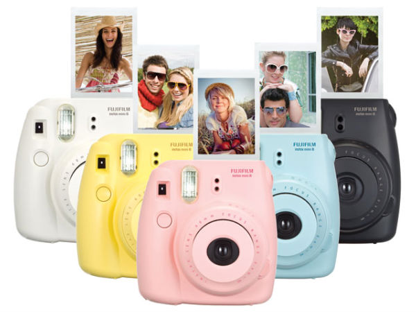 fujifilm launches new instant camera   gizbot
