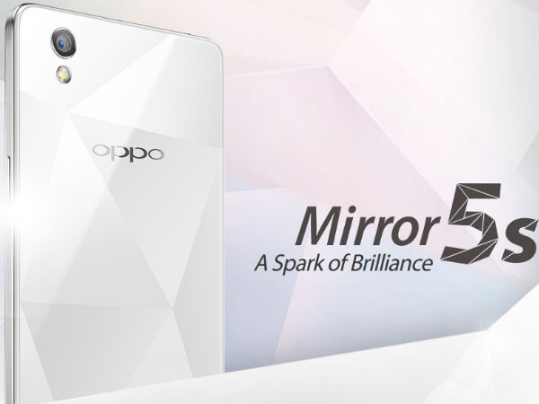 Oppo Mirror 5s Officially Announced: Specs, Features and More