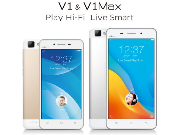 Vivo V1 with 5-inch Display, 4G LTE Connectivity Announced