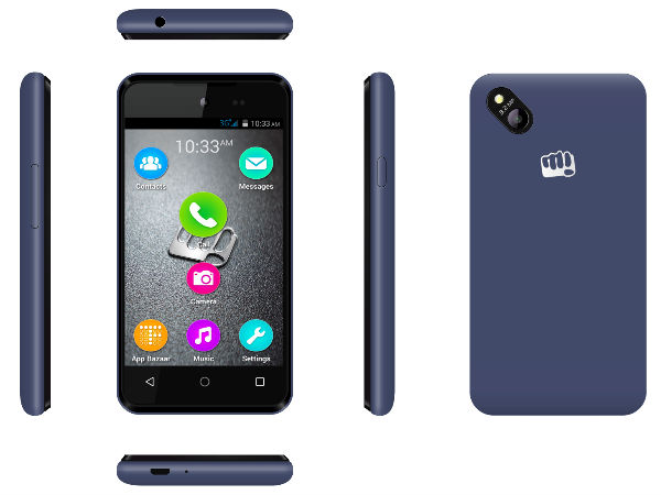 Micromax Bolt D303 with 3G and multi-language support launched